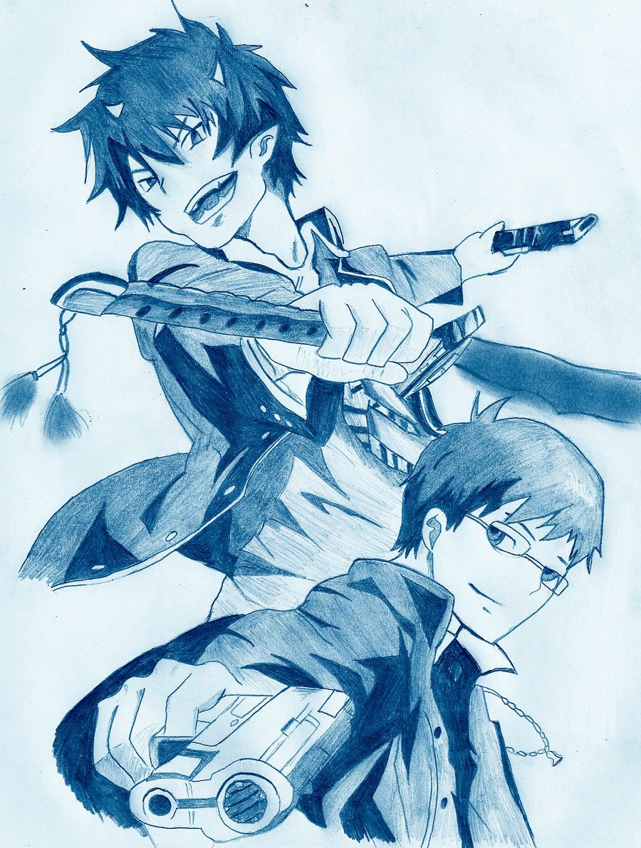 900x1191 Blue Exorcist By Unexpectedfantasy
