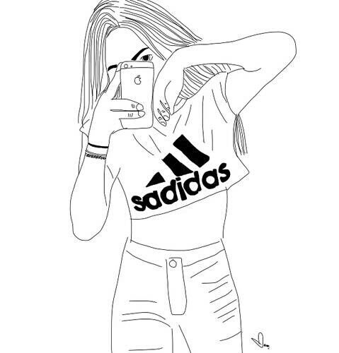 479x500 Adidas, Outline, And Tumblr Image Tumblr Outlines