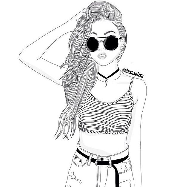 Ariana Grande Drawing Outline at GetDrawings   Free download