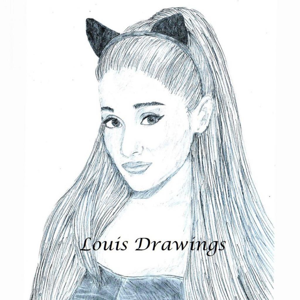 1024x1024 Gallery Ariana Grande Drawing Easy,