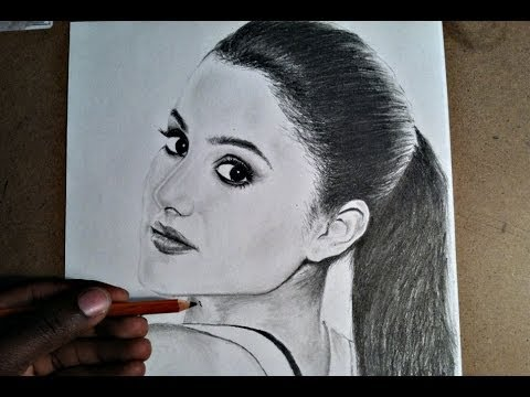 480x360 How To Draw Ariana Grande (For Beginners)
