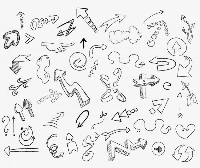 650x546 Arrow Sketch, Pencil Drawing, Sketch Png Image And Clipart
