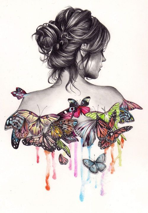500x719 Creative Drawing Ideas Creative Drawing Ideas Tumblr Tattoo Ideas