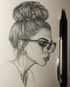 236x295 Side View Of A Girl Drawing References Girls