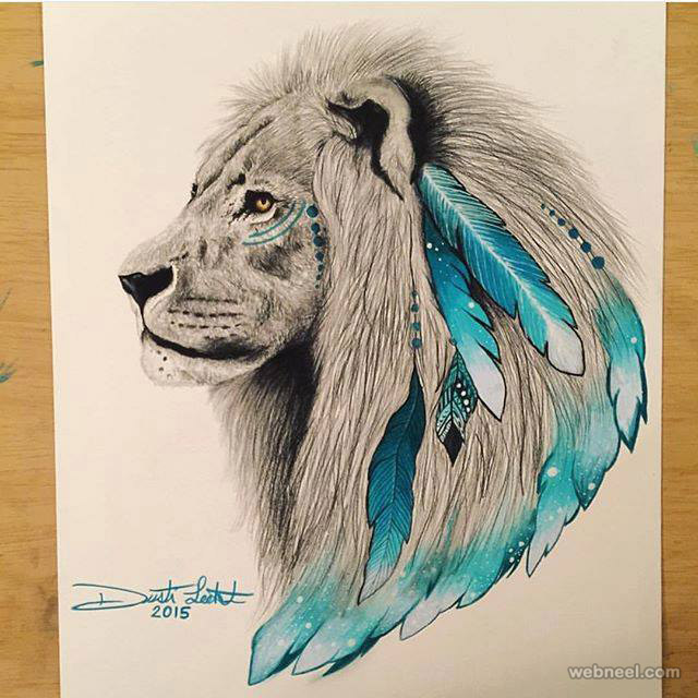 640x640 Lion Art Drawing By Scandy Girl