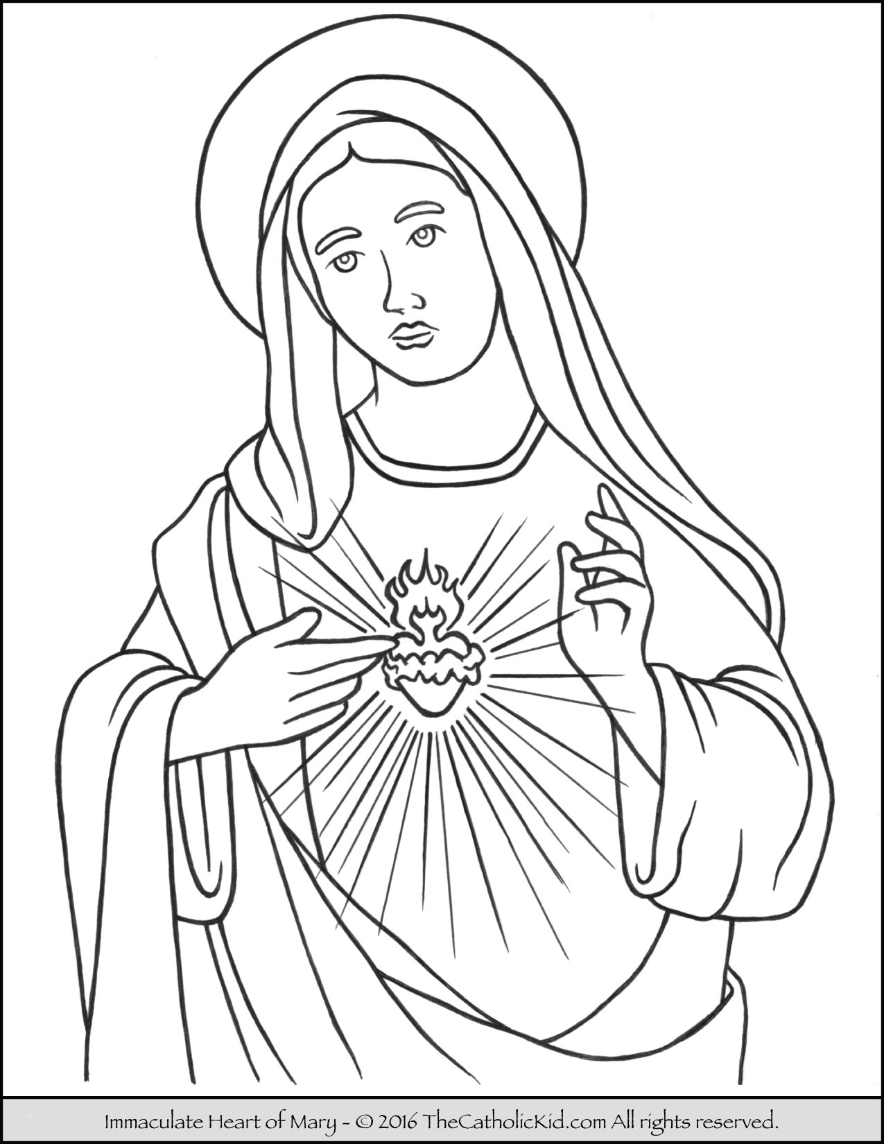 1275x1650 Mary Mother Of God Coloring Page Luxury Assumption