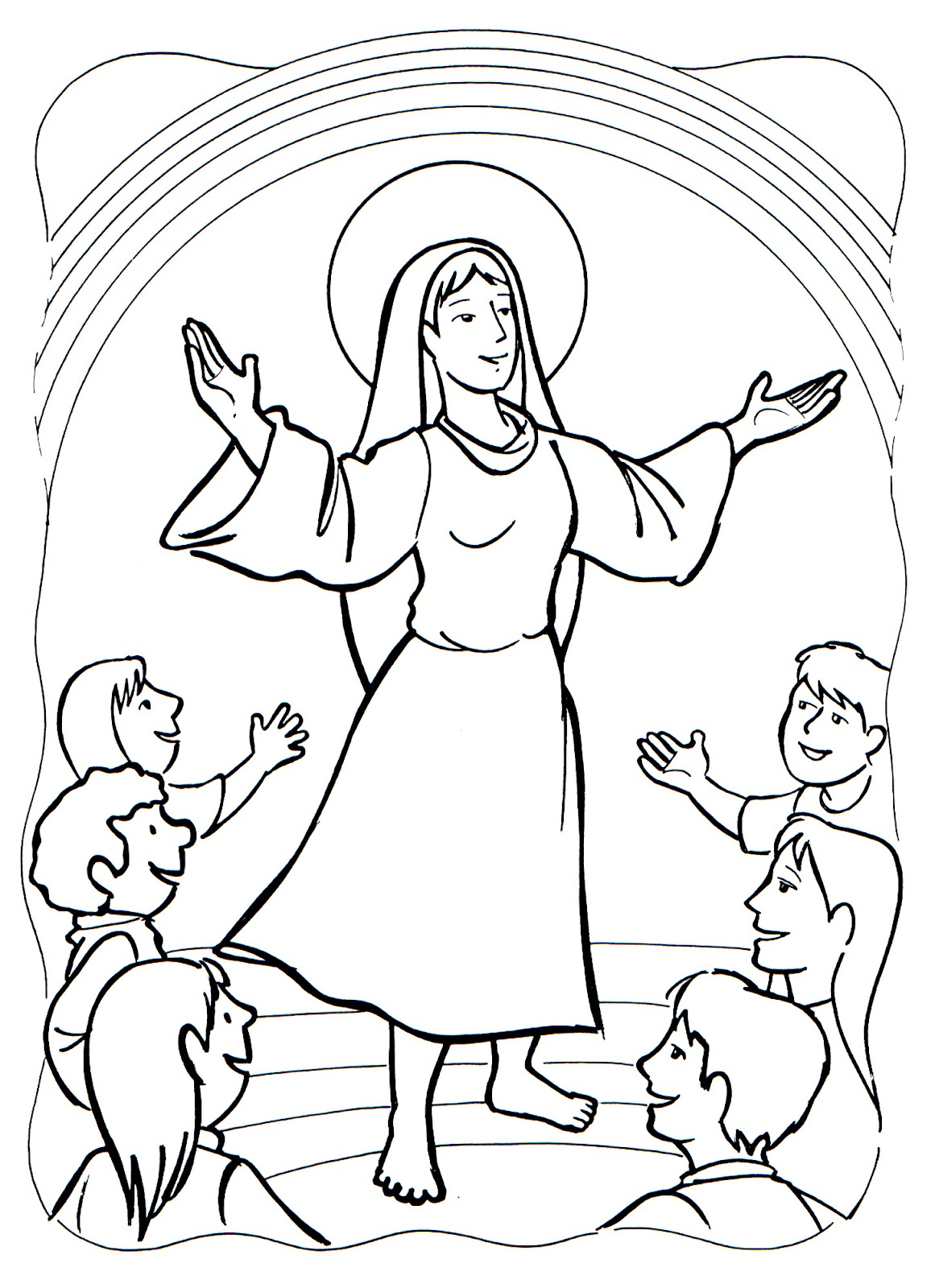 Assumption Drawing at GetDrawings.com   Free for personal use ...