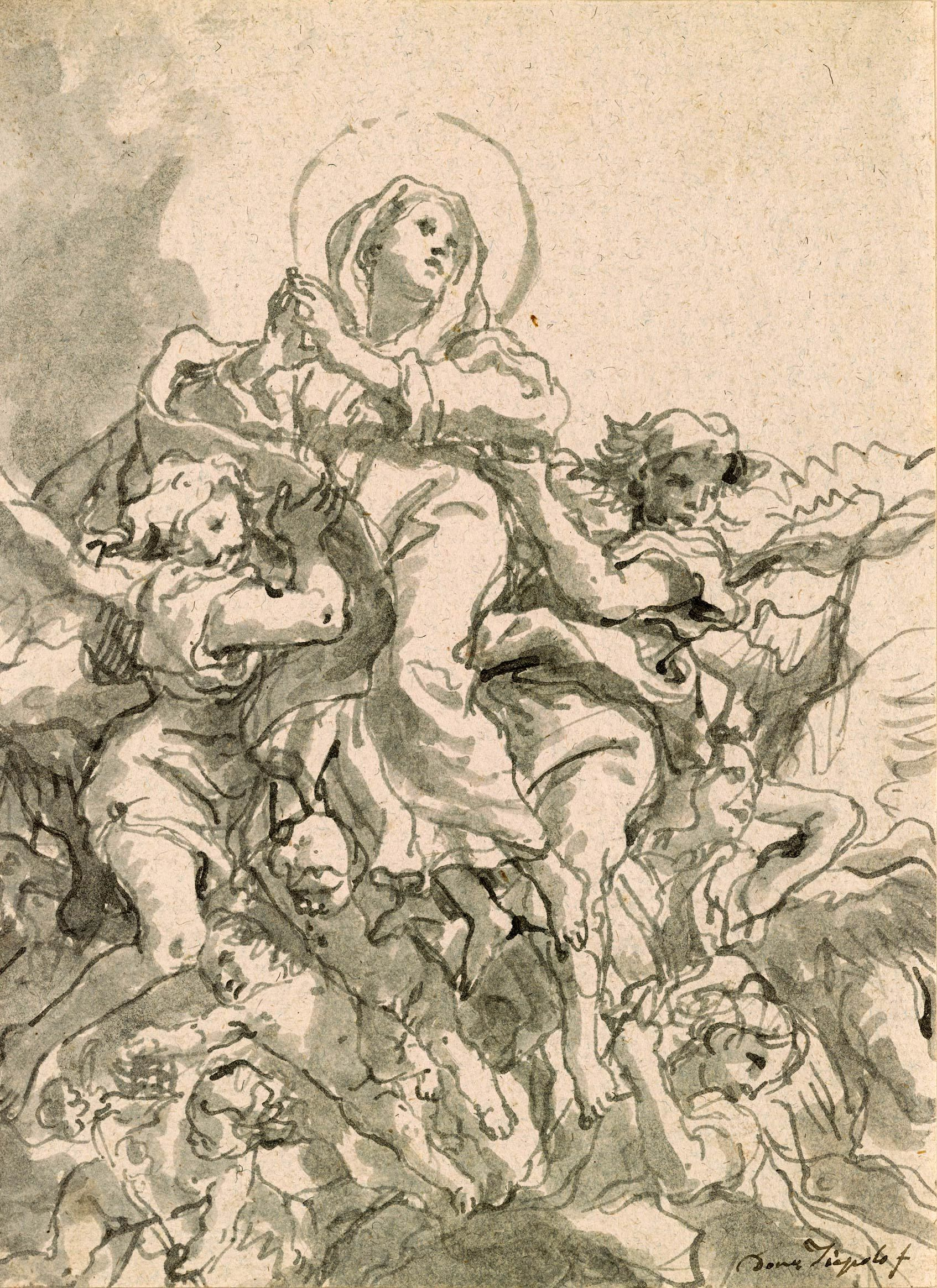1694x2330 Giovanni Domenico Tiepolo Museums, Drawings And Figurative Art