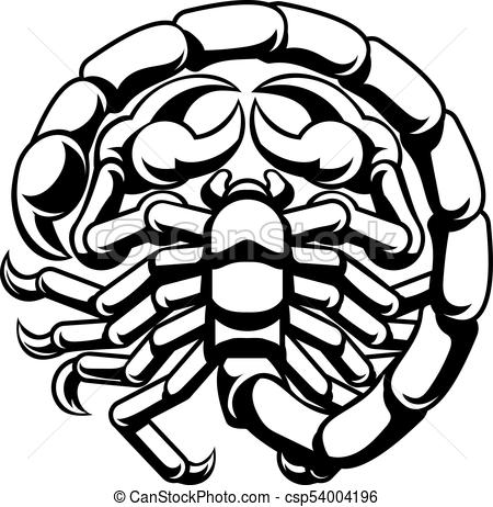 450x462 Scorpio Scorpion Zodiac Astrology Sign. Scorpio Scorpion Eps