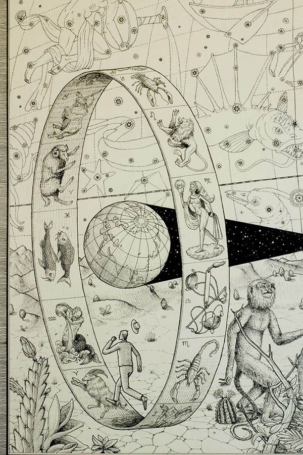 600x901 Edge Of Time Drawing By Interesni Kazki Ancient Astronomy