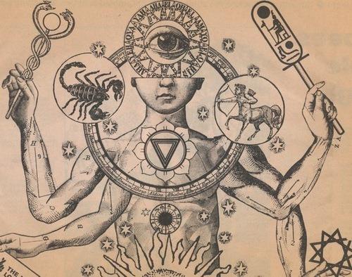 500x394 Drawing Illustration Art Trippy Drugs Trip Surrealism Zodiac