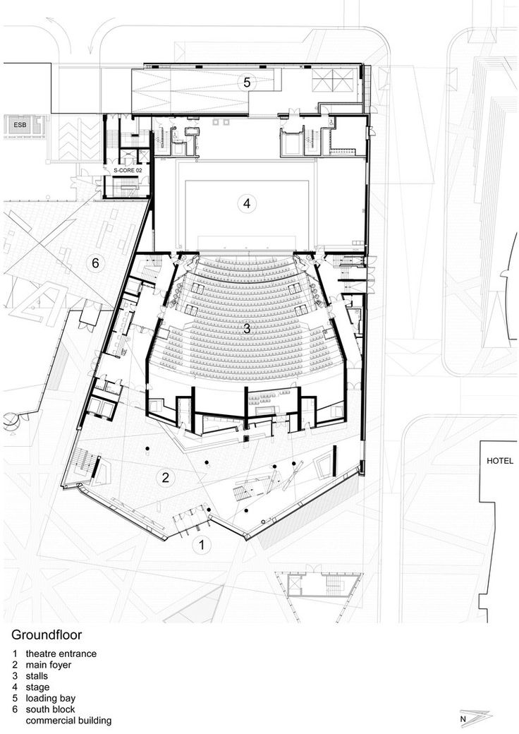 Auditorium Drawing