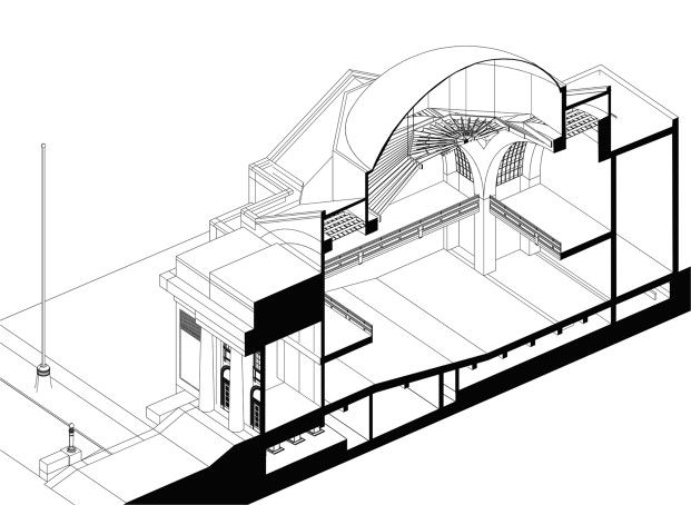 621x454 Building Guastavino Dome In China A Historical Survey Of The Dome