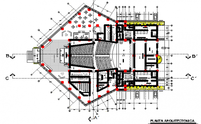 The Best Free Auditorium Drawing Images Download From 29