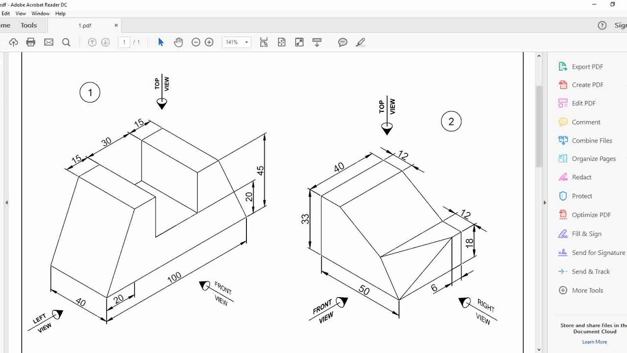 1280x720 Catia Part Design Exercise 2