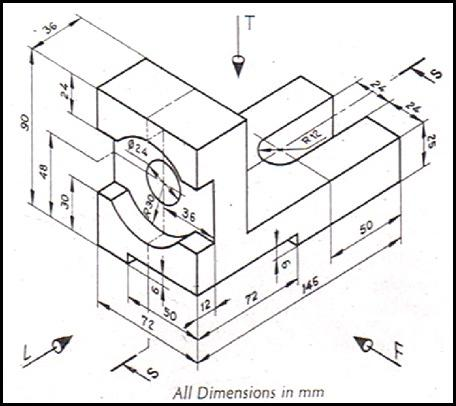 456x406 Pictures Autocad Mechanical Drawings For Practice,
