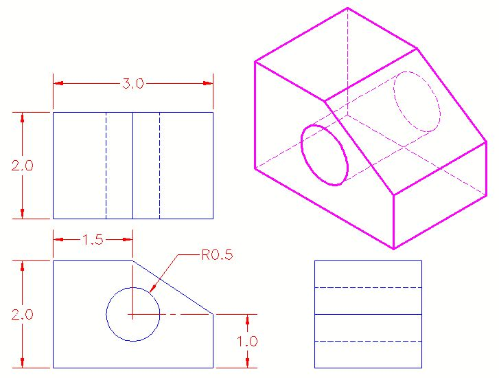 Autocad Basic Drawing Exercises Pdf At Getdrawings Com Free For