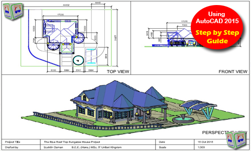 500x300 Autocad 3d House Modeling Tutorial Course Using Autocad 2015
