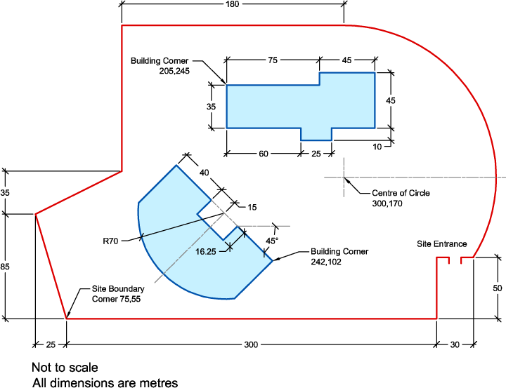 720x553 Autocad Tutorial Site Layout Exercise 1 Cadtutor