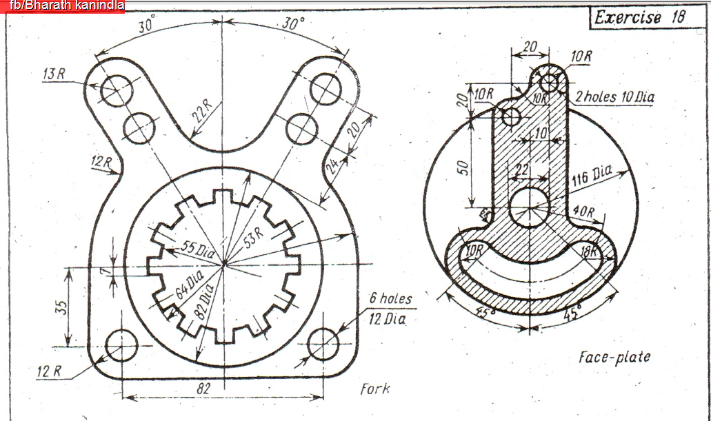 1031x611 Collection Of Autocad 2d Drawings For Practice Mechanical Pdf