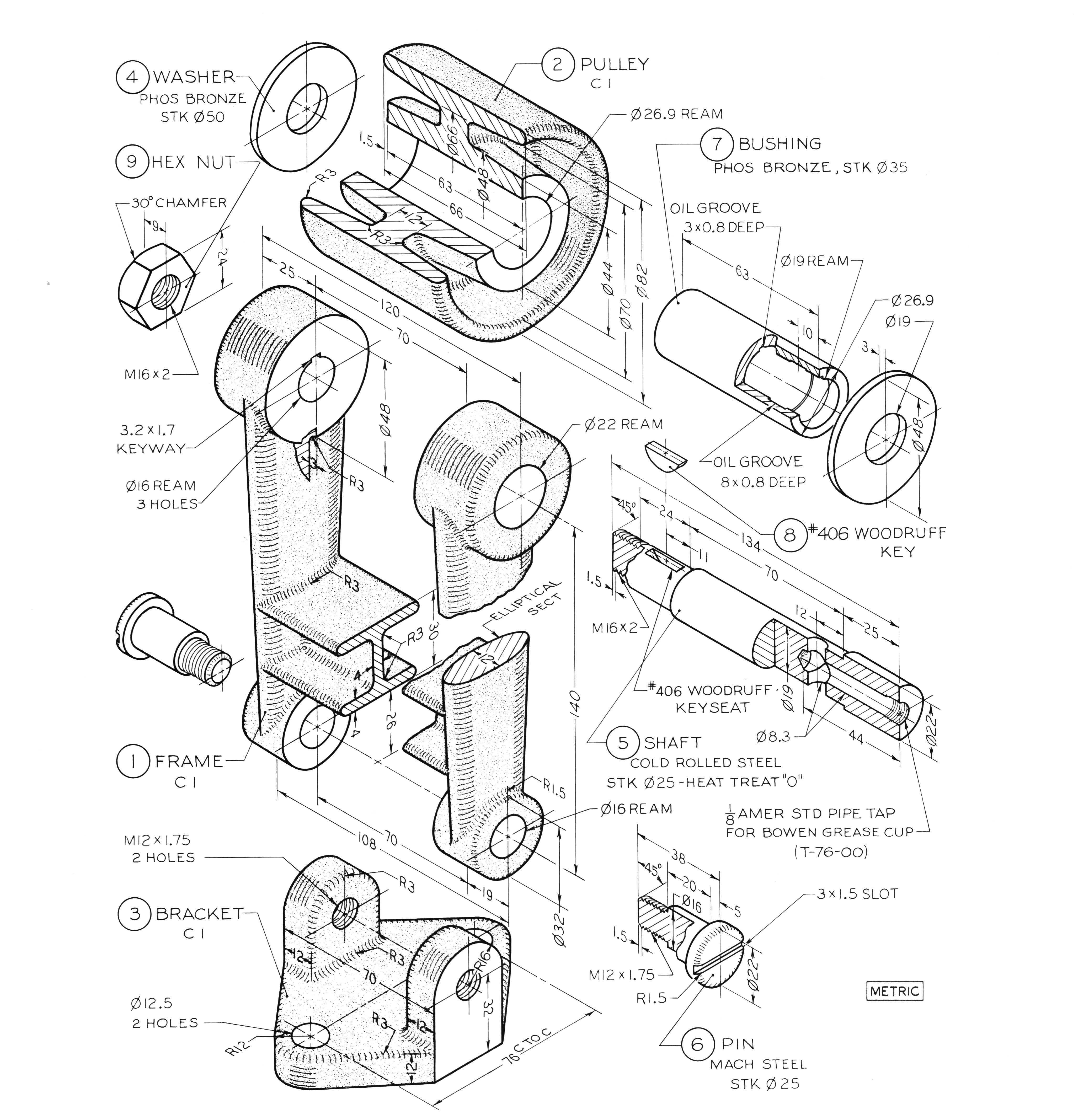4152x4271 Pin By 0 On Cad Exercises Drawings, 3d Drawings And 3d