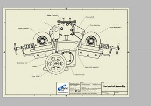 300x210 3d Drawing For Mechncal Autocad Mechanical Modeling Part1