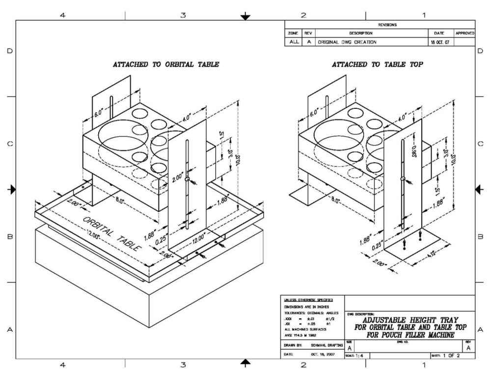 1000x773 Gallery Examples Of Mechanical Drawings,