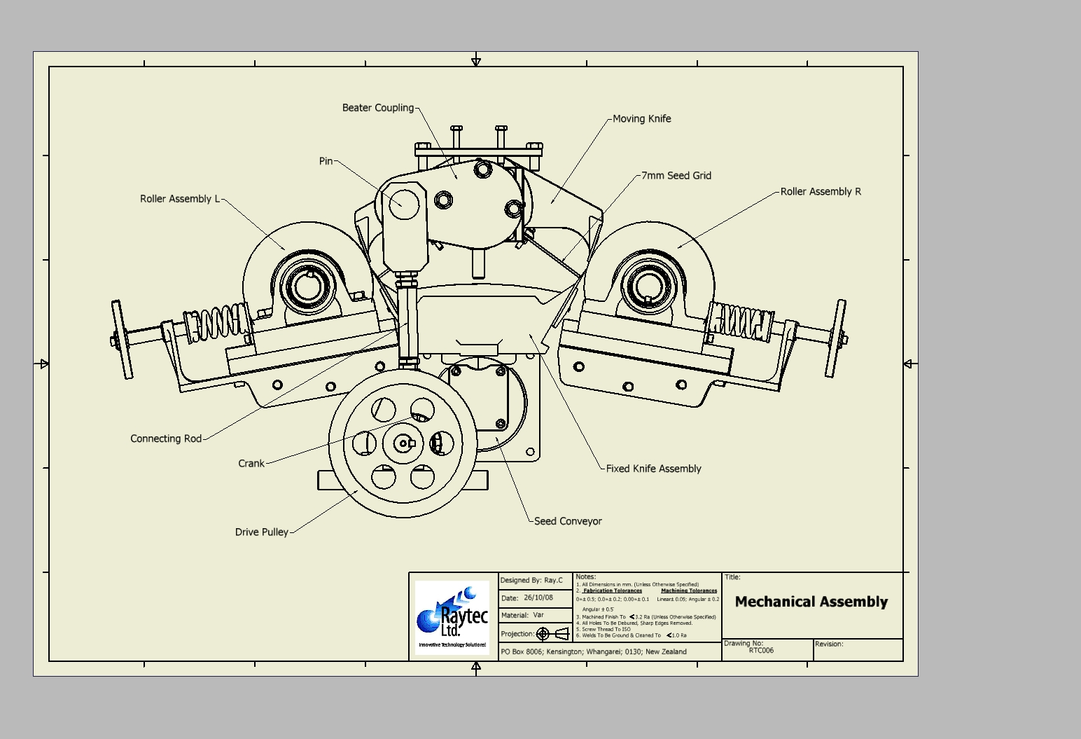 Autocad Mechanical Drawing Samples At Free For Hvac 1544x1055 3d