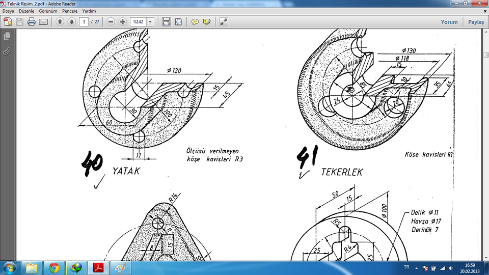 autocad mechanical drawing samples at getdrawings com