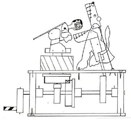 425x396 The Automata Blog Ron Fuller's Lion Tamer