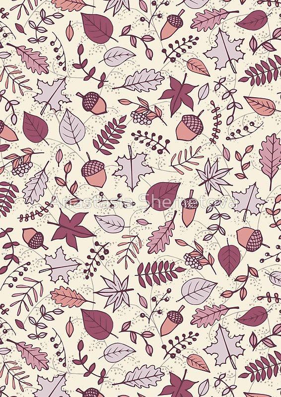 566x800 Autumn Leaves' Spiral Notebook By Anastasia Shemetova Fall