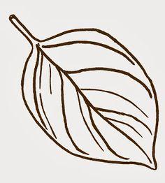 236x262 Fall Leaf Template Oak Leaf Outline Clip Art