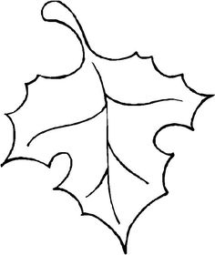 236x280 Learn How To Draw A Leaf, One Of The Maple Variety