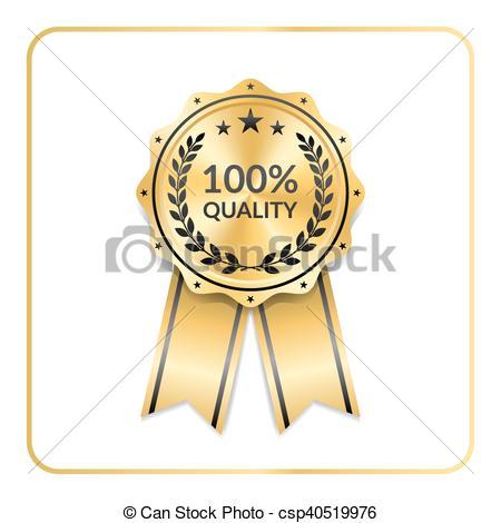 450x470 Award Ribbon Gold Icon Laurel Wreath Quality. Award Ribbon Gold