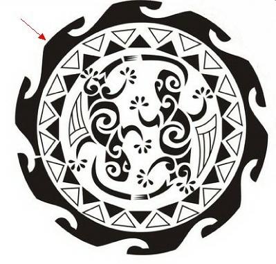 Aztec Tattoo Drawing