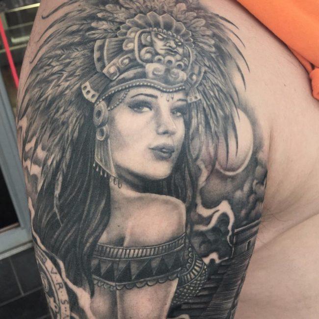 650x650 Best Aztec Tattoo Designs