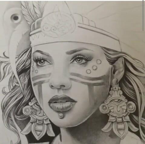 479x474 Aztec Princess Chicano Pride Aztec, Princess
