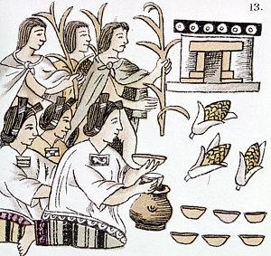 300x283 Aztec Woman Drawings Fine Art America