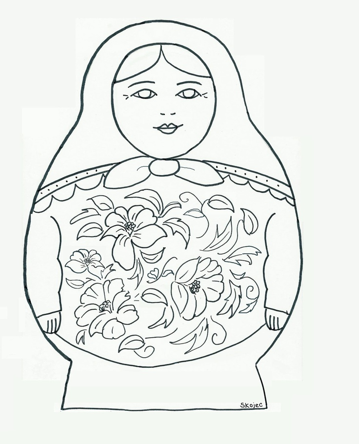 Babushka Drawing
