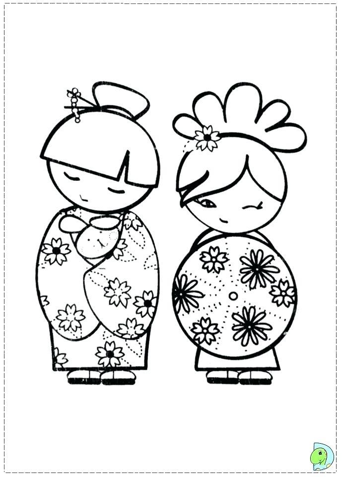 691x960 Matryoshka Doll Coloring Page Doll Coloring Pages Babushka Doll