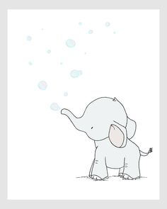 236x295 Pink Baby Elephant Wall Decal By Lollipop Walls