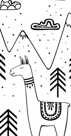 236x450 Black And White Zebra Watercolor Nursery Artwork Print Baby Room