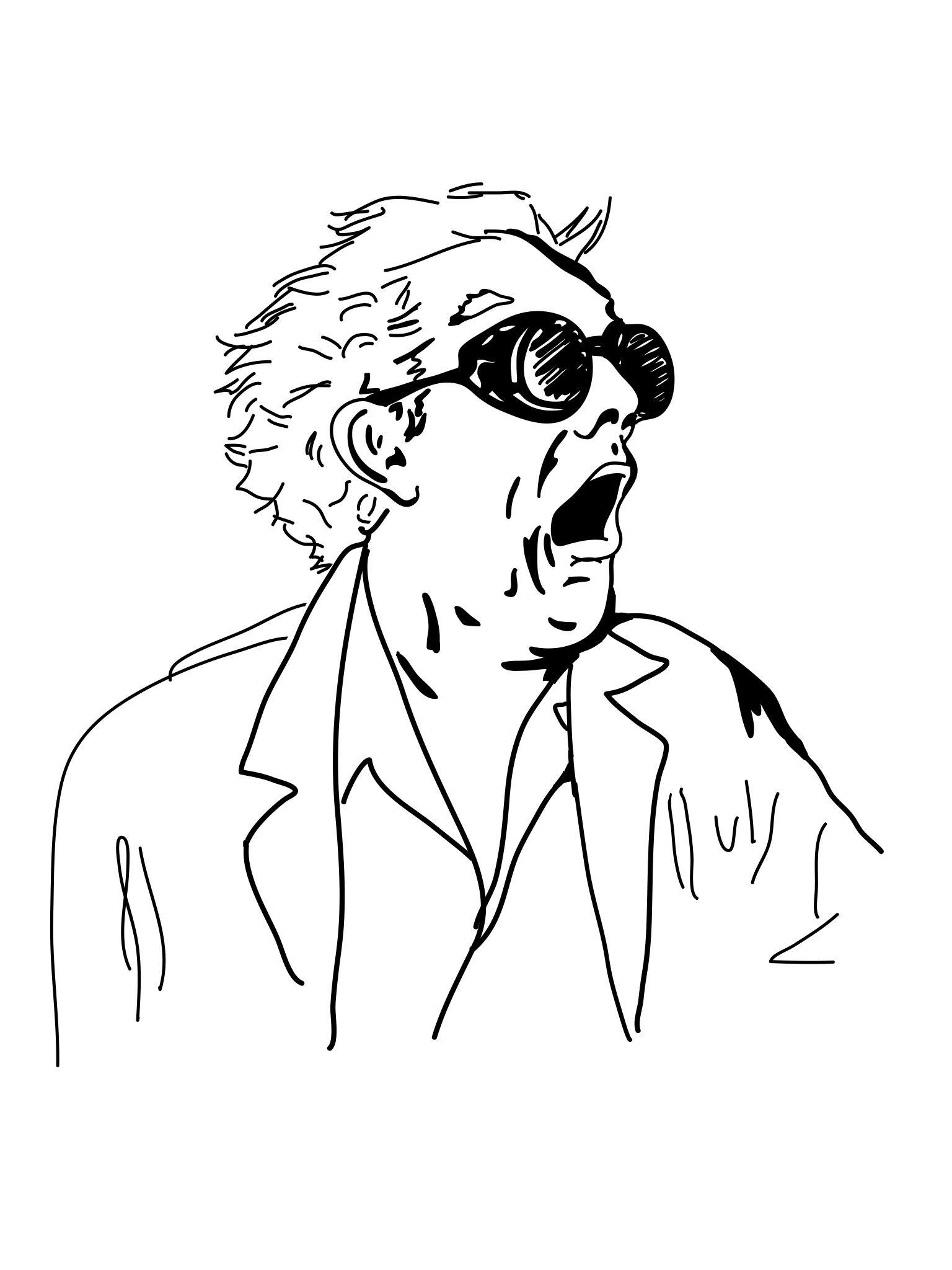 1536x2048 Great Scott, Meme, Back To The Future, Drawing, Illustration, Doc