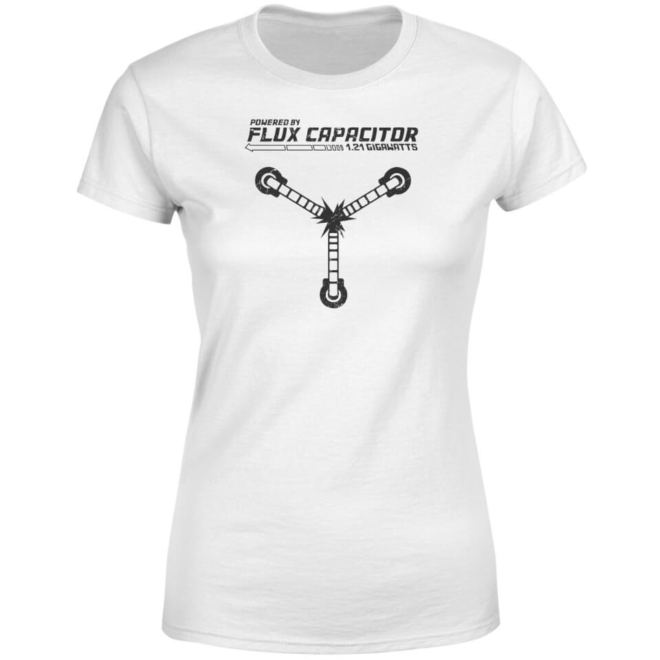 960x960 Back To The Future Powered By Flux Capacitor Women's T Shirt