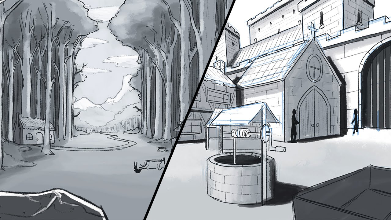 1280x720 How To Draw A Background (Environments And Landscapes)