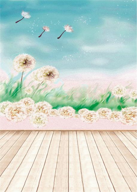 458x640 Kidniu Drawing Background Wooden Floor Vinyl 5x7ft Or 3x5ft Stor