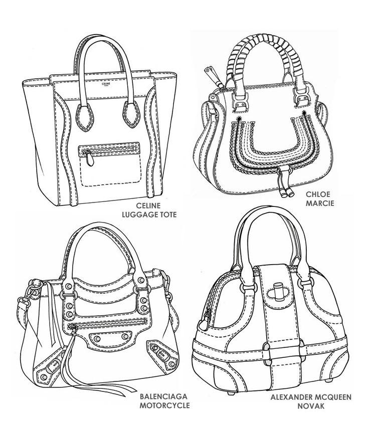 736x856 32 Best Bag Design Sketches Images On Bag Design