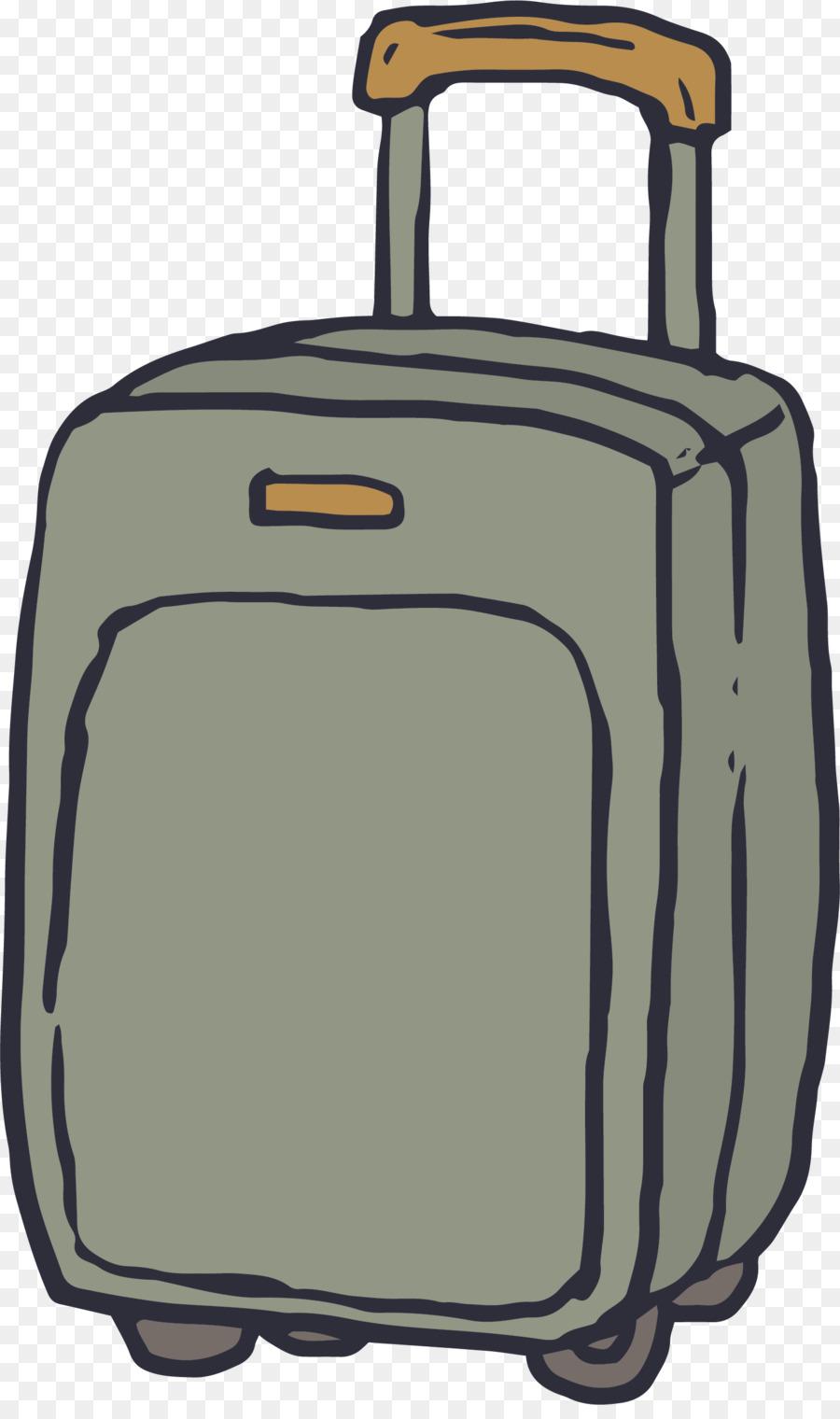900x1520 Drawing Euclidean Vector Suitcase