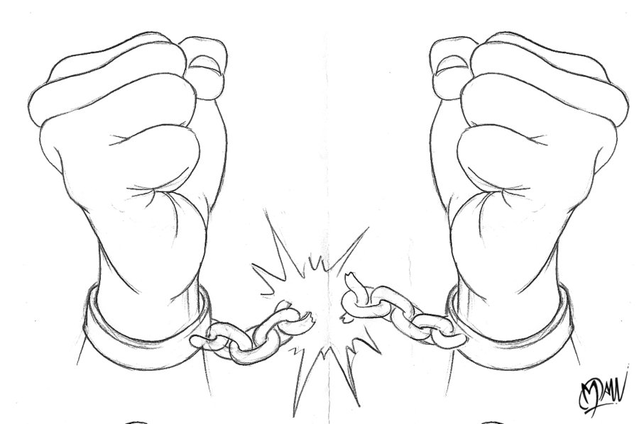900x598 Collection Of Balled Up Fist Drawing High Quality, Free
