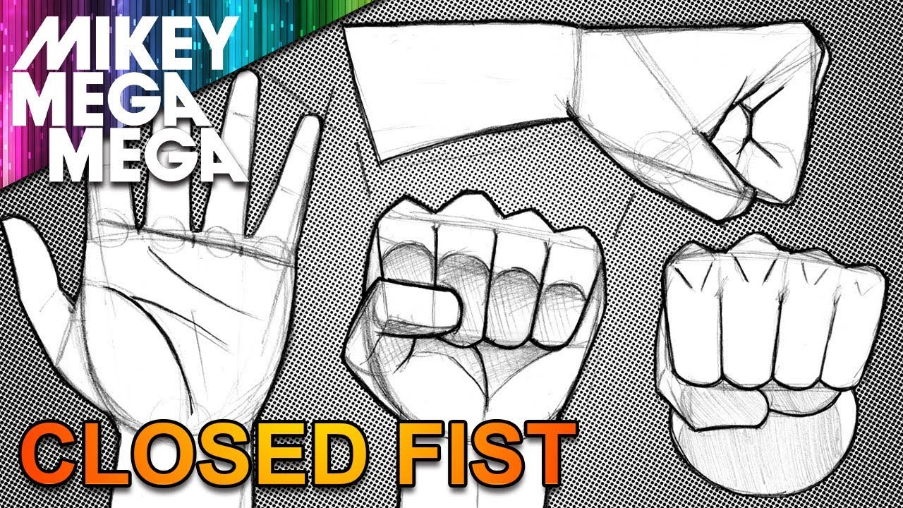 1280x720 How To Draw Hands Amp Fists For Beginners